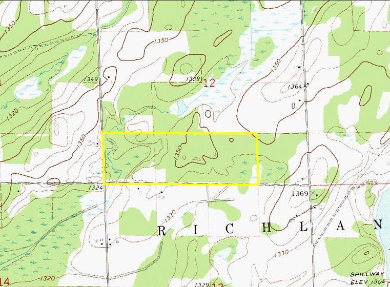 Rusk County Wisconsin Map